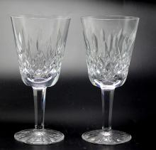 Set of 8 Waterford Crystal Lismore Water Goblets