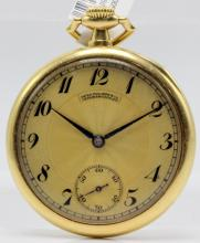 Patek Philippe & Co. 18Kt YG Open Face Pocket Watch