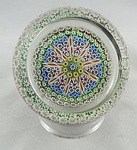 Perthshire Art Glass Crystal Paperweight