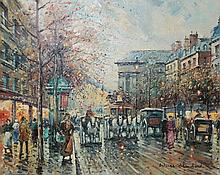 Antoine Blanchard (French 1910-1988) Oil Painting