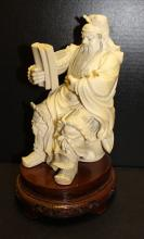Chinese/Japanese Carved Ivory Samurai