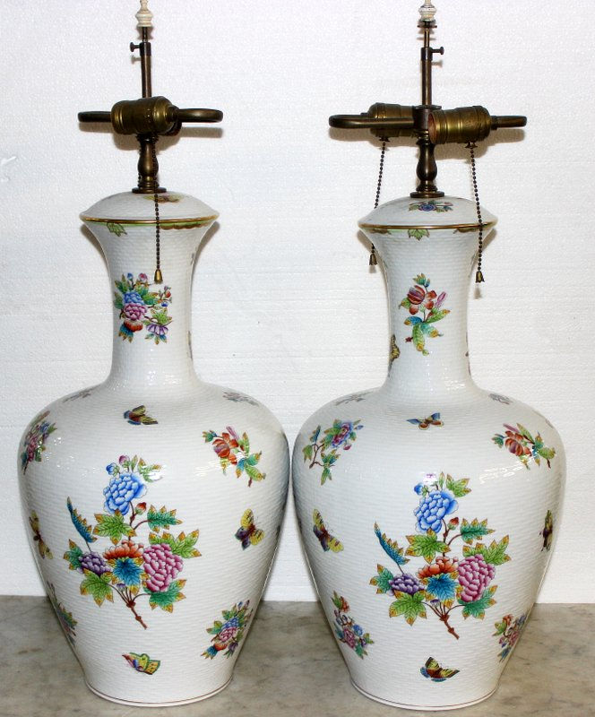 Pair of Rare Herend