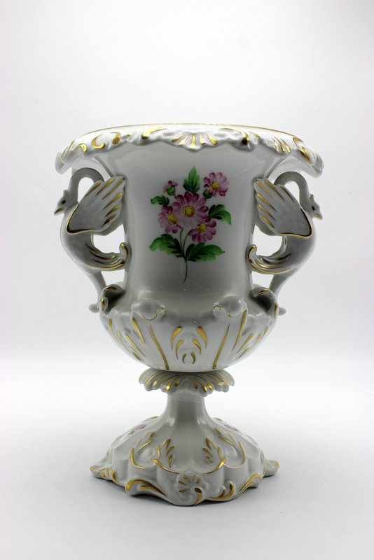 Herend Hand Painted Porcelain Urn