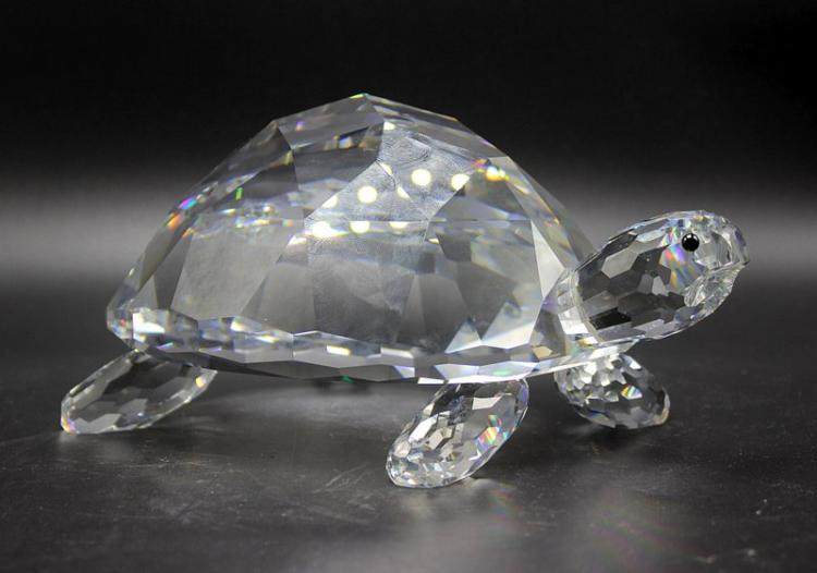 Swarovski Crystal Giant Turtle