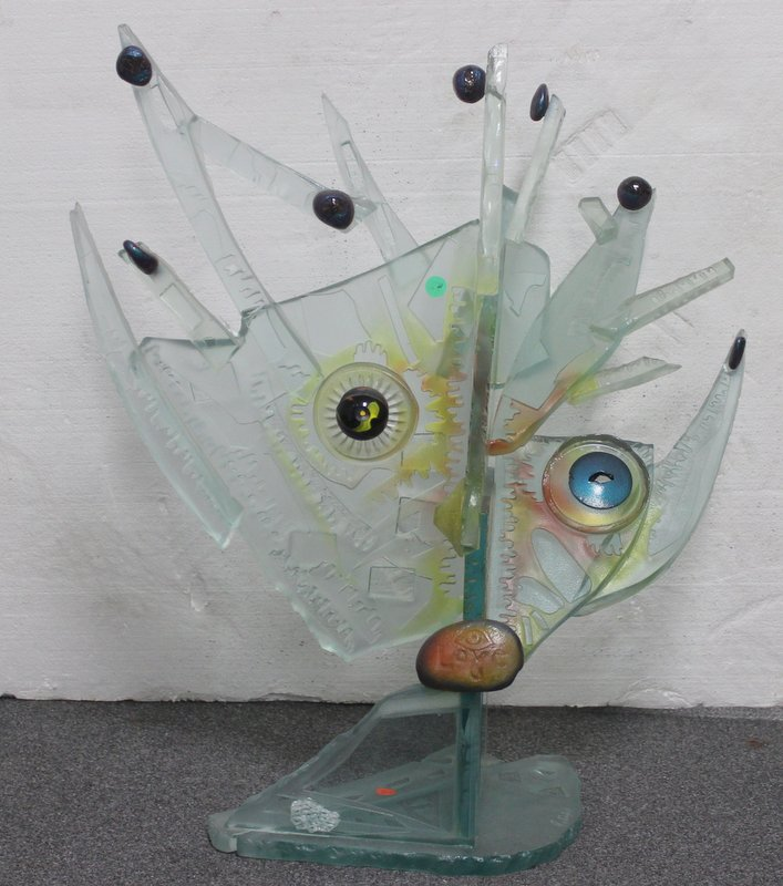 Susan Pelish Art Glass Sculpture