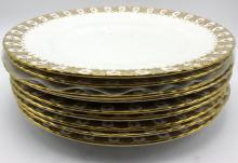 9 Pc. Royal Crown Derby Porcelain Plates