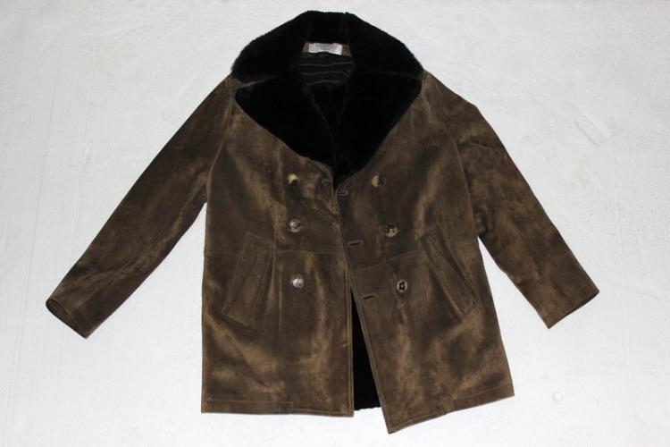 Valentino Hiver 2008 Vintage Suede Jacket