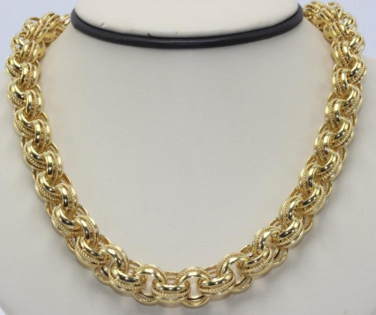 14Kt YG Necklace