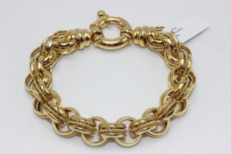 14Kt YG Bracelet
