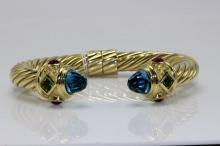 18Kt David Yurman Cable Bracelet