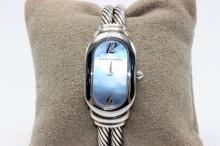 David Yurman 18Kt & Sterling Silver Watch