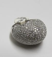 18Kt WG 3.90ct Diamond Ladies Ring