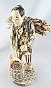 Polychrome Japanese Hand Carved Ivory of Man