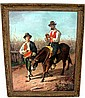 19th C. Oil Painting on Canvas, Italian Artist
