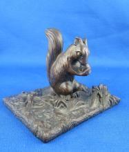 Miniature Vienna Bronze Rabbit Figure