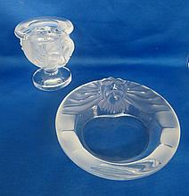 Lalique France Smoking Set