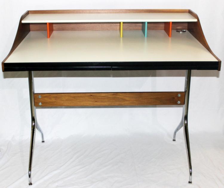 Nelson For Herman Miller Swag Leg Desk