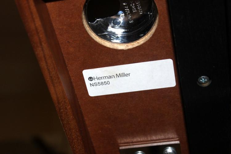 Nelson For Herman Miller 174 Swag Leg Desk