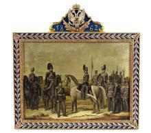 Adolf Jebens European Military Presentation Plaque