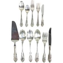 'SIR CHRISTOPHER' WALLACE STERLING FLATWARE SET