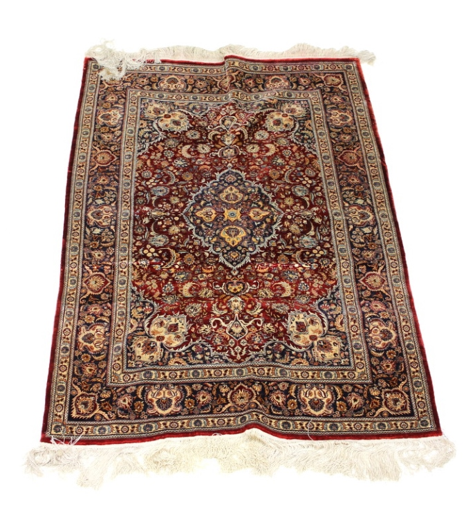 Oriental Rugs Jupiter Florida: SEMI ANTIQUE GENUINE HAND WOVEN ORIENTAL RUG