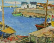 "Charles Kvapil (Belgian, 1884-1957) ""My get Away"""