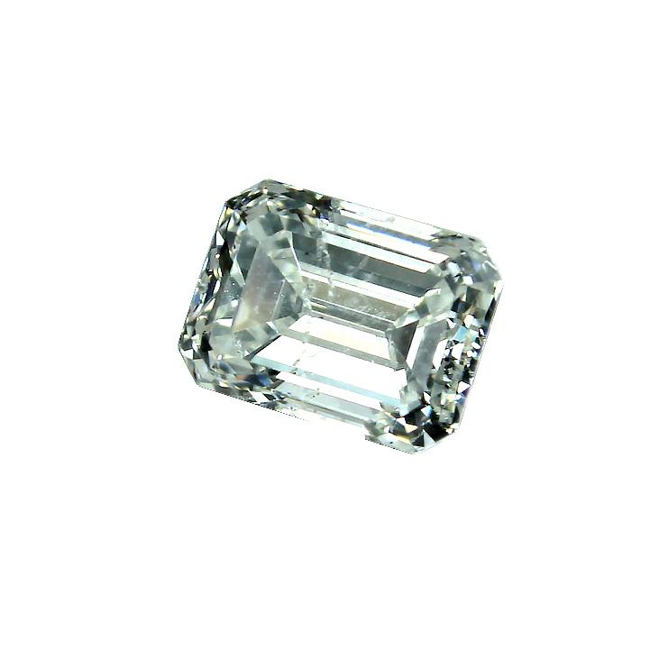 unmounted loose 410 carat emerald cut diamond