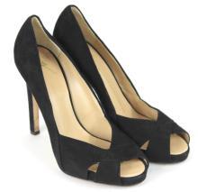 Giuseppe Zanotti Black Suede Heels, Size 40