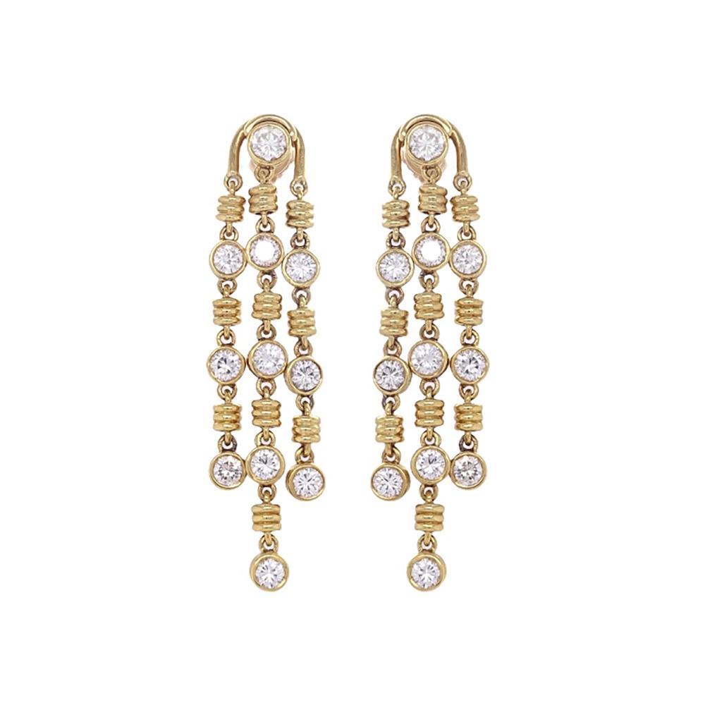 4.50ct Diamond Bvlgari Earrings
