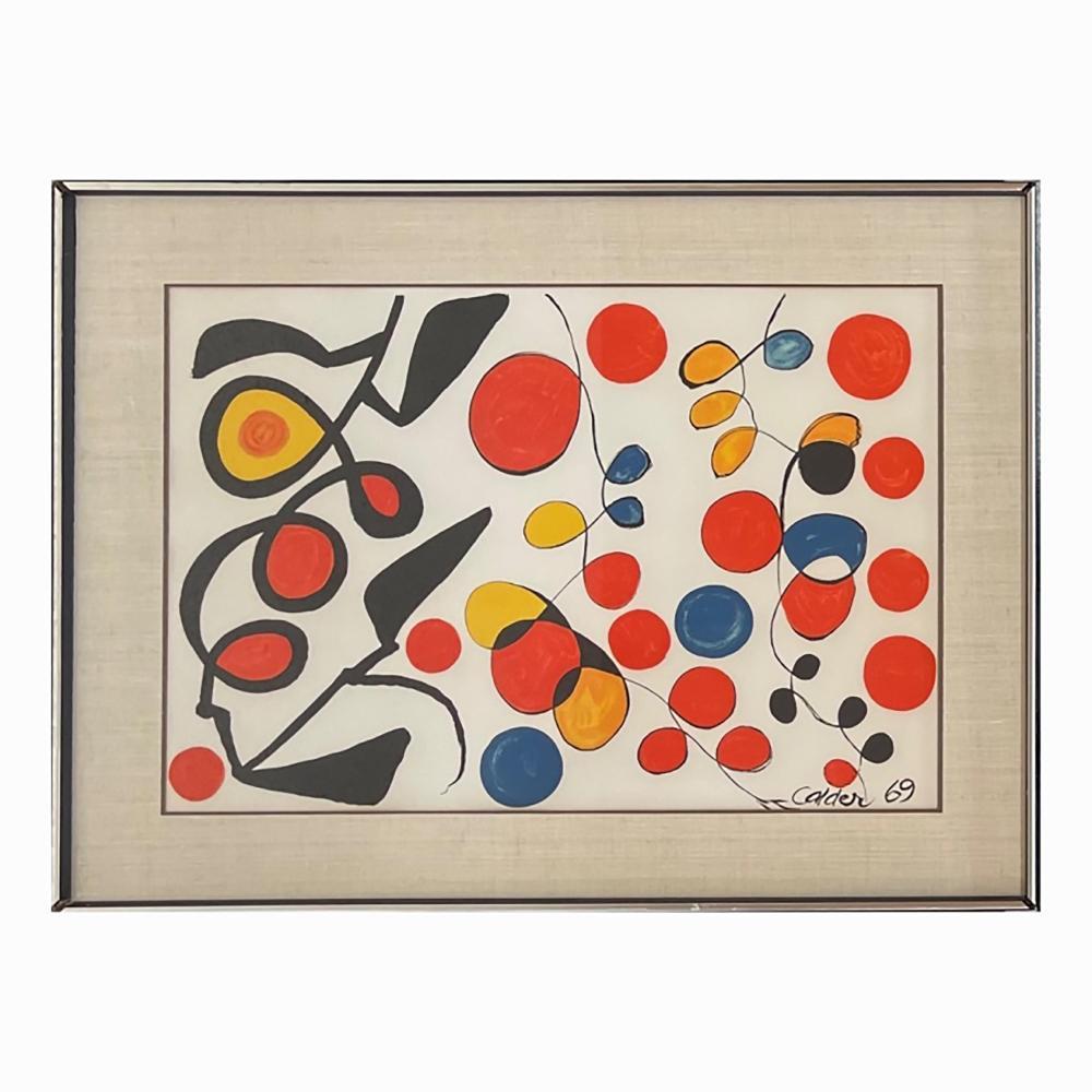 "Alexander Calder ""Spring Carnival"" Color Lithograp"