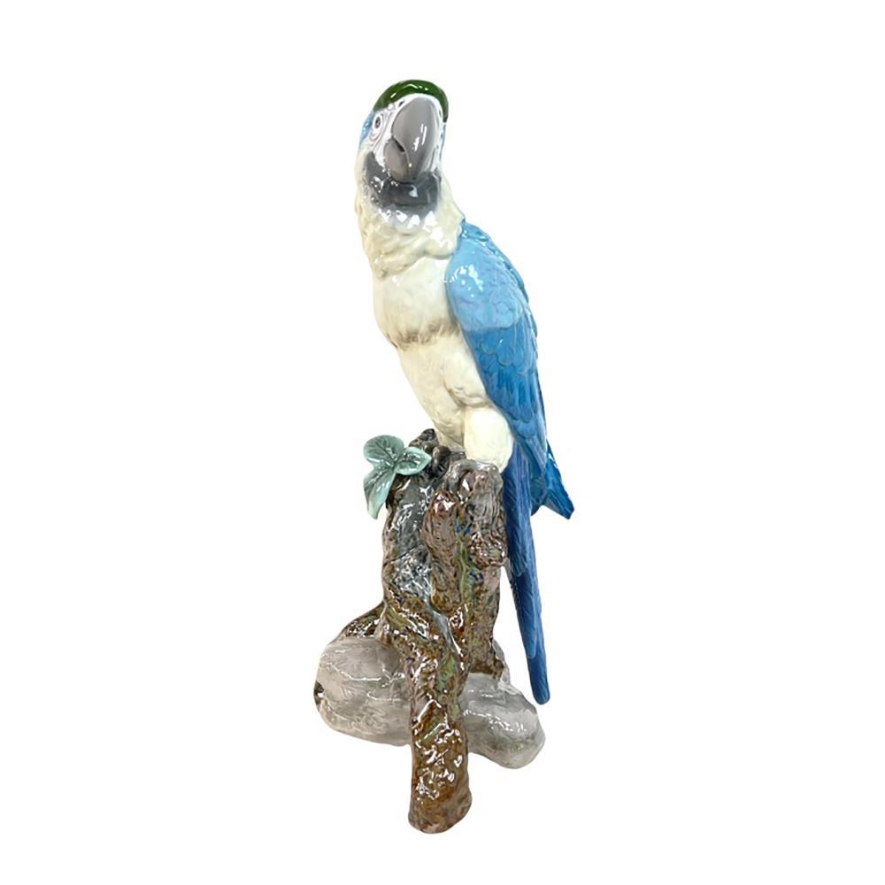 Lladro Spain Porcelain Macaw Large Sculpture 0388