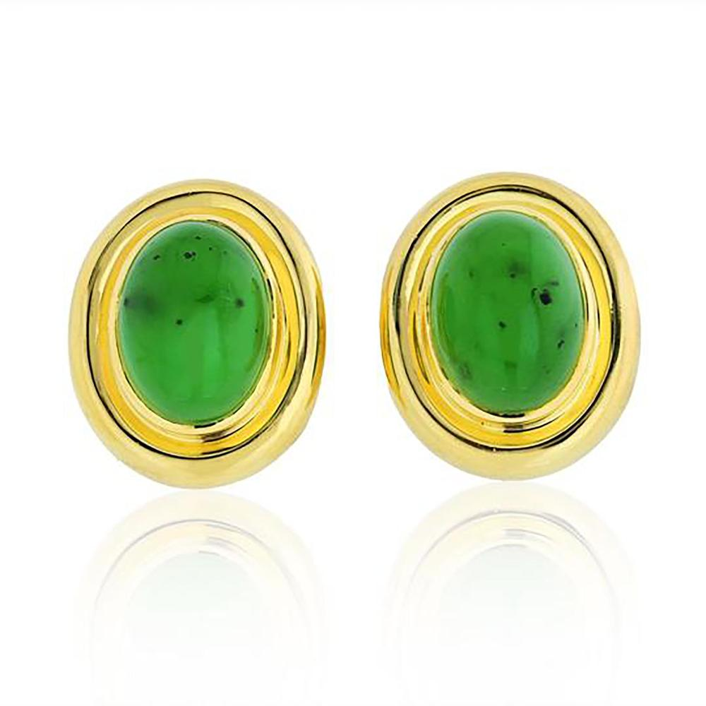 TIFFANY & CO. PALOMA PICASSO 18K GOLD EARRINGS