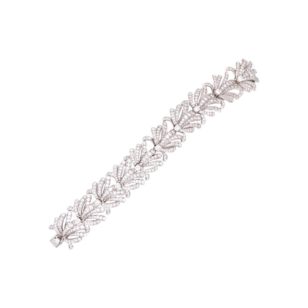Incredible Tiffany & Co 20.00ct Diamond Bracelet