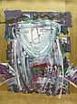 Orlando (Agudelo-Botero) Botero Colombian (born1946- ) Mixed Media on Cardboard