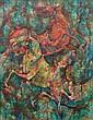 Akira Shirasaki Japanese (born1926- ) Oil on Canvas