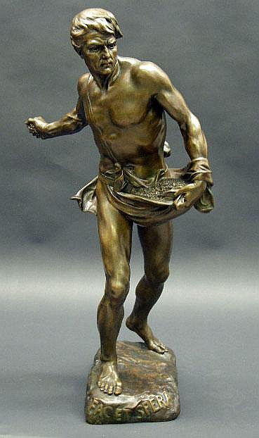 Henri Désiré Gauquié French (1858-1927) Bronze S