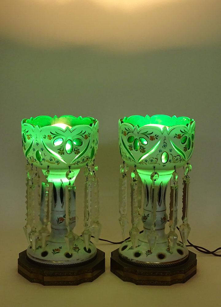 Electrified Glass Decoration
