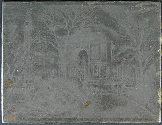 Edward C. Caswell American-New York (1879-1963) Five (5) Steel Engraving Plates