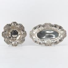 Grouping of Two (2) Reed and Barton Francis I Sterling Silver Dishes
