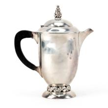 Vintage Sterling Silver Coffee Pot