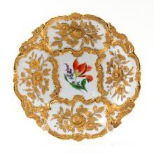 Vintage Meissen Gilt Porcelain Bowl