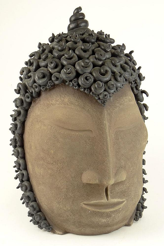 Paul Bellardo, American (20th Century) Pottery Sculpture