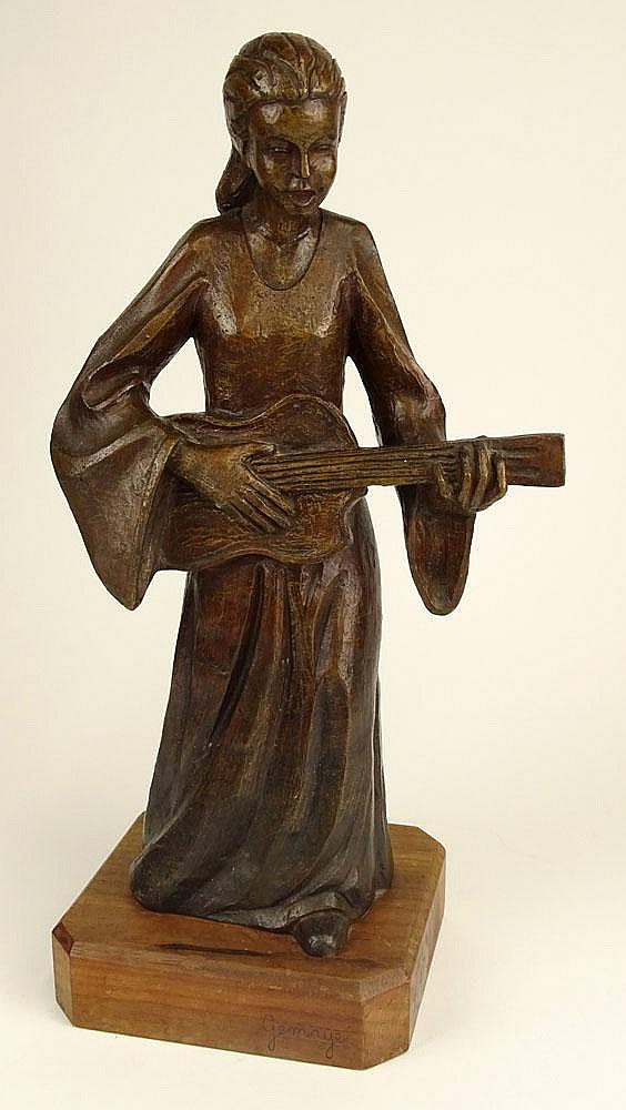 attributed to: Cesar Gemayel, Lebanese (born after 1898-died after 1958) Bronze Sculpture