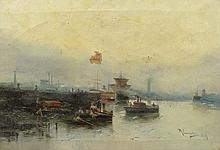 Rafael Cuartiellas (worked 19/20th Century) Continental School Oil on Canvas