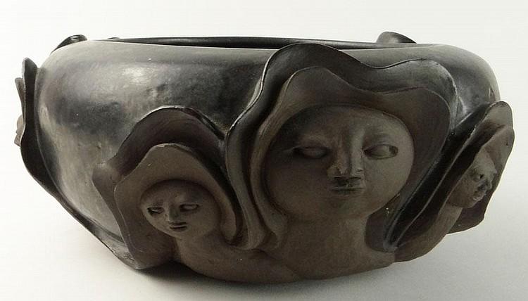 Paul Bellardo, American (20th Century) Circa 1982 Ceramic Sculpture