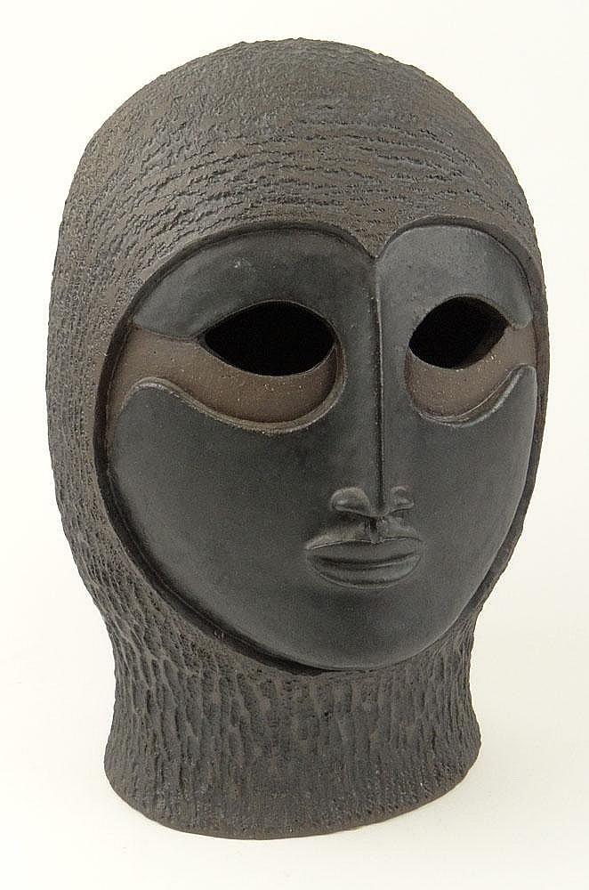 Paul Bellardo, American (20th Century) Circa 1974 Ceramic Sculpture