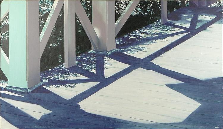 Alice Dalton Brown, American (1939) 1985 Oil on Linen