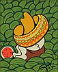 Xavier Cugat, Spanish (1900-1990) Oil on Artist Board