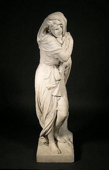 Emile Carlier French (1849-1927) Marble Sculpture