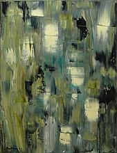 Marion Riseman American-Connecticut (1928-2010) Oil on Canvas